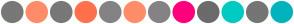 Color Scheme with #787878 #FF8C69 #787878 #FF704D #848285 #FF8C69 #848285 #FF007D #6B6B6B #00CBC3 #757575 #02B3BD