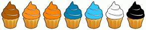 Color Scheme with #B25D00 #FF9119 #FF8400 #0082B2 #31C7FF #FFFFFF #000000