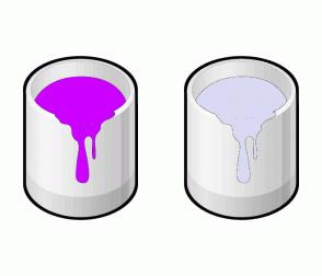 Color Scheme with #CC00FF #D9D9F3