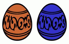 Color Scheme with #CC6633 #3333CC
