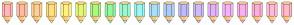 Color Scheme with #FFB7B7 #FFBBA2 #FFCE97 #FFDF81 #FFF184 #E5F779 #ACF780 #93F79E #9AF7CE #9AF7F3 #A8E0F9 #AECAF7 #BDBCF9 #CEBBF7 #E1B2F7 #F2B3F9 #F9B1EE #FBAFDB #FBBAD7 #FFB9C8
