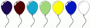 Color Scheme with #1D0A51 #4D0000 #15A7CE #9FD978 #FFFF00 #0318C1 #FFFFFF