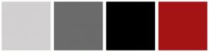 Color Scheme with #D2D0D0 #6B6B6B #000000 #A51414