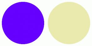 Color Scheme with #6600FF #EAEAAE
