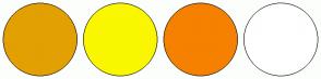 Color Scheme with #E2A003 #FAF700 #F68000 #FFFFFF