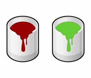 Color Scheme with #990000 #66CC33