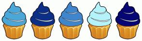 Color Scheme with #4CA7D9 #0C2F87 #3F86CC #B4F3FA #070675