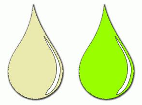 Color Scheme with #EAEAAE #99FF00