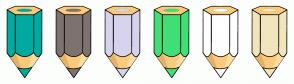 Color Scheme with #00AAA0 #7E726F #D7D3EC #41DF77 #FFFFFF #F2E5BD