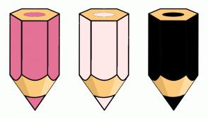 Color Scheme with #E47297 #FFE9E8 #000000