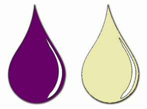 Color Scheme with #660066 #EAEAAE