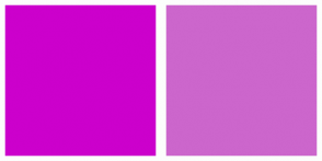 Color Scheme with #CC00CC #CC66CC