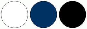 Color Scheme with #FFFFFF #003264 #000000