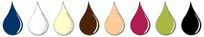 Color Scheme with #003366 #FFFFFF #FFFFCC #4C260A #FFCC99 #AF1C52 #A9B843 #000000