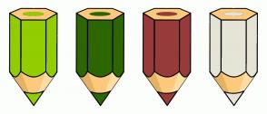 Color Scheme with #92CD00 #2C6700 #973B3B #E5E4D7