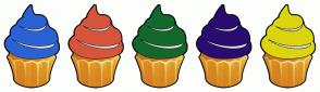 Color Scheme with #2A62D6 #D6553C #13682C #2A0C72 #DCD40D