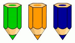 Color Scheme with #00CC00 #FF9900 #000099