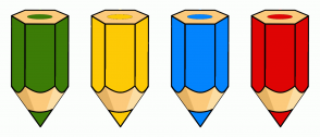 Color Scheme with #3C7C07 #FDCA05 #0384FD #DF0404