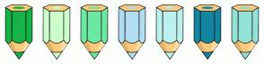 Color Scheme with #16B348 #CCFFCC #6CE8A3 #B1DDF3 #BCF1ED #1485A0 #93E2D5