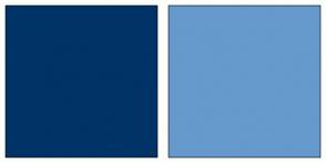 Color Scheme with #003366 #6699CC