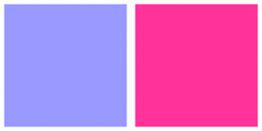 Color Scheme with #9999FF #FF3399