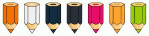 Color Scheme with #F17204 #EFEFEF #142D3E #293037 #E90C68 #FFA52E #99CC00