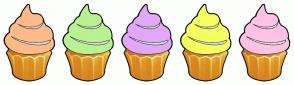 Color Scheme with #FFBA88 #B8F292 #E1A8FA #F4FF60 #FFC2E3