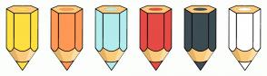 Color Scheme with #FDDF40 #FF9854 #B2ECEC #E64A45 #3D4C53 #FFFFFF