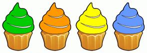 Color Scheme with #00CC00 #FF9900 #FFFF00 #6599FF
