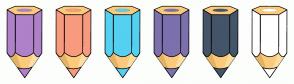 Color Scheme with #AF81C9 #F89A7E #54D1F1 #7C71AD #445569 #FFFFFF