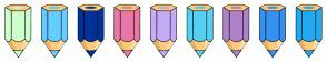 Color Scheme with #CCFFCC #66CCFF #003399 #EB77A6 #C5AAF5 #54D1F1 #AF81C9 #3590F2 #21AAF0