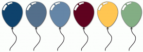 Color Scheme with #0E426C #546F8B #6586A7 #5F021F #FFC652 #83AE84