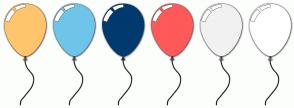Color Scheme with #FFC56C #6EC5E9 #003A6F #FF5959 #F2F1F1 #FFFFFF