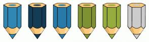 Color Scheme with #3087B4 #143D55 #287AA9 #7E9234 #96AD3E #CCCCCC