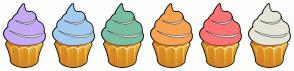 Color Scheme with #C5AAF5 #A3CBF1 #79BFA1 #F5A352 #FB7374 #E5E4D7