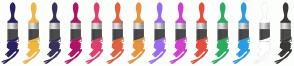 Color Scheme with #2D2061 #F3B73F #3B3059 #B31166 #E33D6F #E45F3C #E9943A #9B6BF2 #D53DD0 #E74C3C #27AE60 #289CE7 #FFFFFF #3B3737