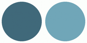 Color Scheme with #40697A #70A6B8