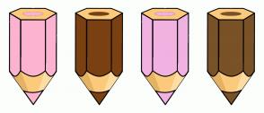 Color Scheme with #FCB3D0 #7A4012 #F1B2E1 #795227