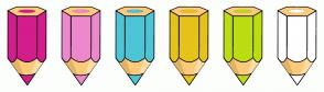 Color Scheme with #D31D8C #EE88CD #4DC5D6 #E6C318 #BCDD11 #FFFFFF