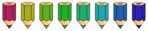 Color Scheme with #AD235E #A5AE23 #5FAE23 #23AE2C #23AE72 #23A5AE #235FAE #2C23AE