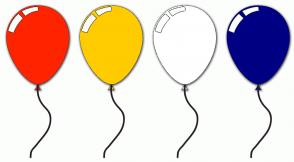 Color Scheme with #FF2400 #FFCC00 #FFFFFF #000084