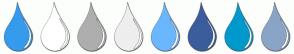 Color Scheme with #359BED #FFFFFF #AEAEAE #EEEEEE #6AB7FE #3B5D9C #0099CC #89A4C7