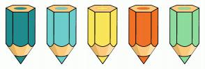 Color Scheme with #218C8D #6CCECB #F9E559 #EF7126 #8EDC9D