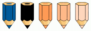 Color Scheme with #005B9A #000000 #FF9B56 #FFB989 #FFD7BC