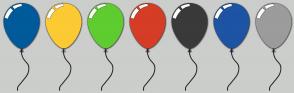 Color Scheme with #005B9A #FCCA33 #5FCC30 #D63D26 #3A3A3A #1D54A3 #9C9C9C