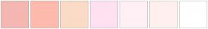 Color Scheme with #F4B7B2 #FEBAAD #FBDBC6 #FFE1F2 #FFF0F5 #FFF0EE #FFFFFF