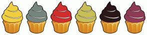 Color Scheme with #F2CF3E #76867D #D12E2E #C8BF56 #2C1718 #8F3B54