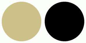 Color Scheme with #CCC289 #000000