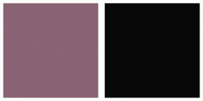 Color Scheme with #8A6374 #080808