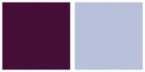 Color Scheme with #440E37 #B9C0DA